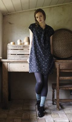 I love stockings with socks and boots. Definitely plan to employ this layering technique, come fall and winter. photo cred: plumo.com