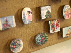 Christmas Calendar, Coasters, Frame, Home Decor, Picture Frame, Decoration Home, Room Decor, Coaster, Frames
