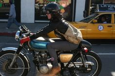 girl's cafe racer