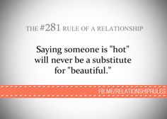 The #281 Rule of a Relationship