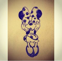 Cute Minnie Mouse illustration