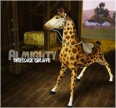 Vegas and The Almighty Dressage Giraffe by Vicarious Sims The Sims 3 Pets, Sims Pets, Sims Humor, Infamous 2, Horse Cards, Witcher 3 Wild Hunt, Monster Hunter World, Sims Games, My Sims