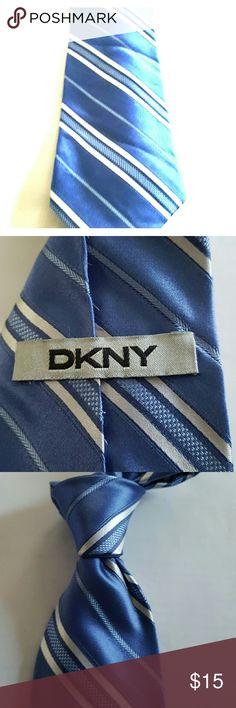 DKNY Purple Silk Stripe Like new...beautiful tie DKNY Accessories Ties