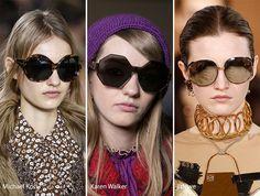 Fall/ Winter 2016-2017 Eyewear Trends: Oversized Sunglasses