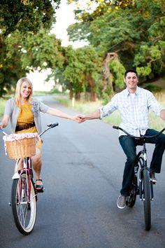 #bikes #engagement session