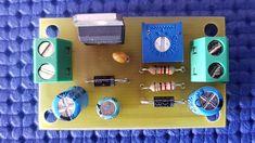 Alimentatore variabile con LM317 Voltage Regulator, Nintendo Consoles, Usb, Phone, Designer Fonts, Circuit, Tecnologia, Telephone, Mobile Phones