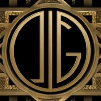 I created my own monogram from The Great Gatsby - Monogram Maker