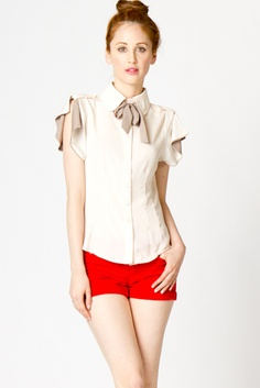 Ariana Tie Blouse