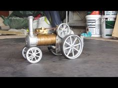 LTD Stirling Cycle Engine Free Plans Easy to Build Hot Air - YouTube