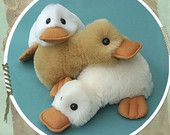Duck Pattern - PDF Looking for your next project? You're going to love Fluffy Duck Pattern - PDF by designer Raggy Dolls.Looking for your next project? You're going to love Fluffy Duck Pattern - PDF by designer Raggy Dolls. Plushie Patterns, Animal Sewing Patterns, Doll Patterns, Softie Pattern, Pdf Patterns, Pattern Sewing, Sewing Toys, Baby Sewing, Sewing Crafts