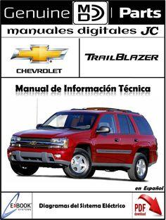 manual diagramas de cableado y sistema el ctrico para el chevrolet rh pinterest com 2004 Trailblazer Problems 2004 Trailblazer Specifications