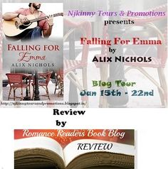 RRBB #Recommends #FallingForEmma by @Aalix_Nichols in her #Review..Read it here and get the book for #FREE! :) http://romancereadersbb.blogspot.in/2015/02/review-blitz-with-rrbb-exclusive-review.html  #NjkinnyToursPromos #Romance