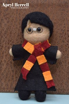 Harry Potter Needle felted doll by AprylsArt on Etsy,