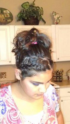 Cute teen hairstyle