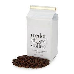 Merlot Infused Coffee? Yum! Created by John, Rhonda and Harrison Jenkins on uncommongoods.com