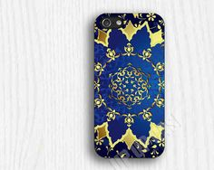 royal blue and gold iphone case -- perfection