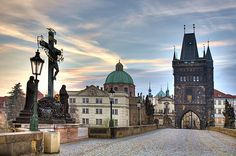 Prague, I want to go back! Places To Travel, Places To Visit, Prague Castle, Czech Republic, Nice View, Barcelona Cathedral, The Good Place, Taj Mahal, Around The Worlds