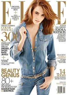 Emma Watson Sexy on Elle Cover, Talks Jealousy of Other Actresses - Us Weekly