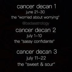 Cancer : do you know your zodiac sign ?