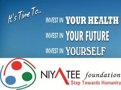 One way to prevent possible diseases is to live a healthy lifestyle. www.niyateefoundation.org