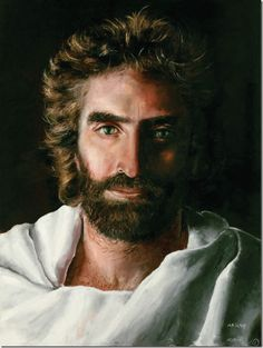 girls painting of jesus | The Face of God | Authentic Christianity