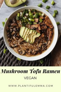 A comforting, easy-to-make, delicious recipe that has turned your favorite college meal into a healthy dish. Easy Vegan Dinner, Vegan Dinner Recipes, Entree Recipes, Delicious Vegan Recipes, Vegan Dinners, Vegetarian Recipes, Vegan Main Dishes, Healthy Dishes, Easy Japanese Recipes