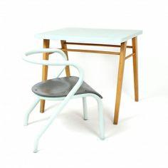 Bureau Baumann et chaise Mullca 300