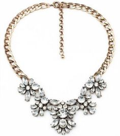 Vintage Inspired Crystal Statement Necklace #Dillynnmiles #Statement