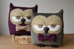 Owl Cushion Owl Pillow Plush Owl Stuffed Owl Decorative