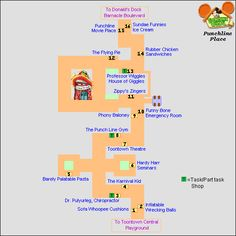 list of cog percentage on streets in Toontown - Google Search