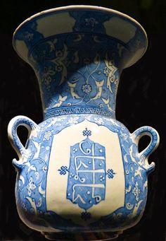 Lampe de mosquée - Iznik, vers 1510