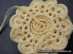 tappeto maglia crochet di rose (9)