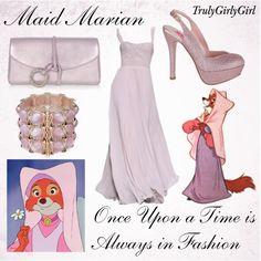 Disney Style: Maid Marian, created by trulygirlygirl on Polyvore