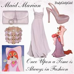 """Disney Style: Maid Marian"" by trulygirlygirl on Polyvore"