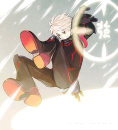 Ah!! Kuga being amazing Black Trigger style!! Yuma Kuga - World Trigger