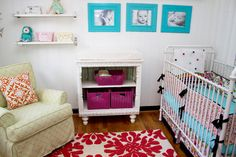 big colorful picture frames