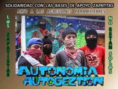 Solidaridad con las BAEZLN de adherentes a La Sexta y estudiantes de la Escuelita de BC, México y California, EE.UU