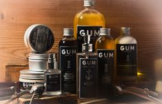 Gum hair products for men