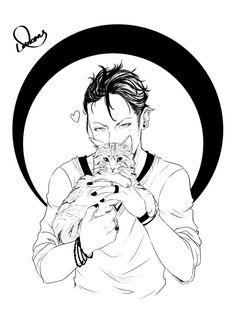 Magnus & Chairman Meow