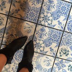 Blue Decor Vintage Tiles