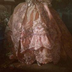 Aesthetic Vintage, Pink Aesthetic, Rococo Dress, Fairytale Dress, Princess Aesthetic, Look Vintage, Classical Art, Renaissance Art, Baroque