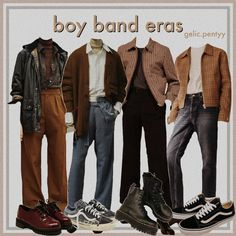 Retro Outfits, Cool Outfits, Casual Outfits, 40s Mens Fashion, Clothing Hacks, Types Of Fashion Styles, Aesthetic Clothes, Winter Outfits, Dresses