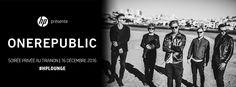 OneRepublic, au Trianon, à Paris, en 2016.