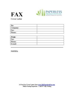 Free Fax Cover Sheet Templates Mesmerizing This Printable Fax Cover Sheet Also Serves As A Test For Your Fax .