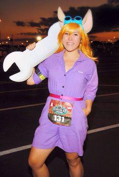 Gadget costume // Rescue Rangers // runDisney // Expedition Everest 2015 // Running Costume