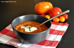 buckwheat soup / buchweizen-cremesuppe