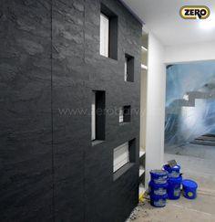 ZERO Magictouch / dekorativní stěrka - dekorace břidlice / vysoká odolnost / vhodné i do koupelen místo obkladu