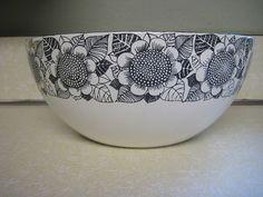 Kaj Franck floral bowl