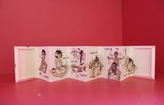 VERBS (zine) by Jenn Liv, via Behance