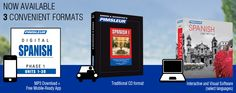 The Pimsleur Method is Now Available in 3 Convenient Formats